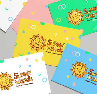 Разработка логотипа SunnyWoods