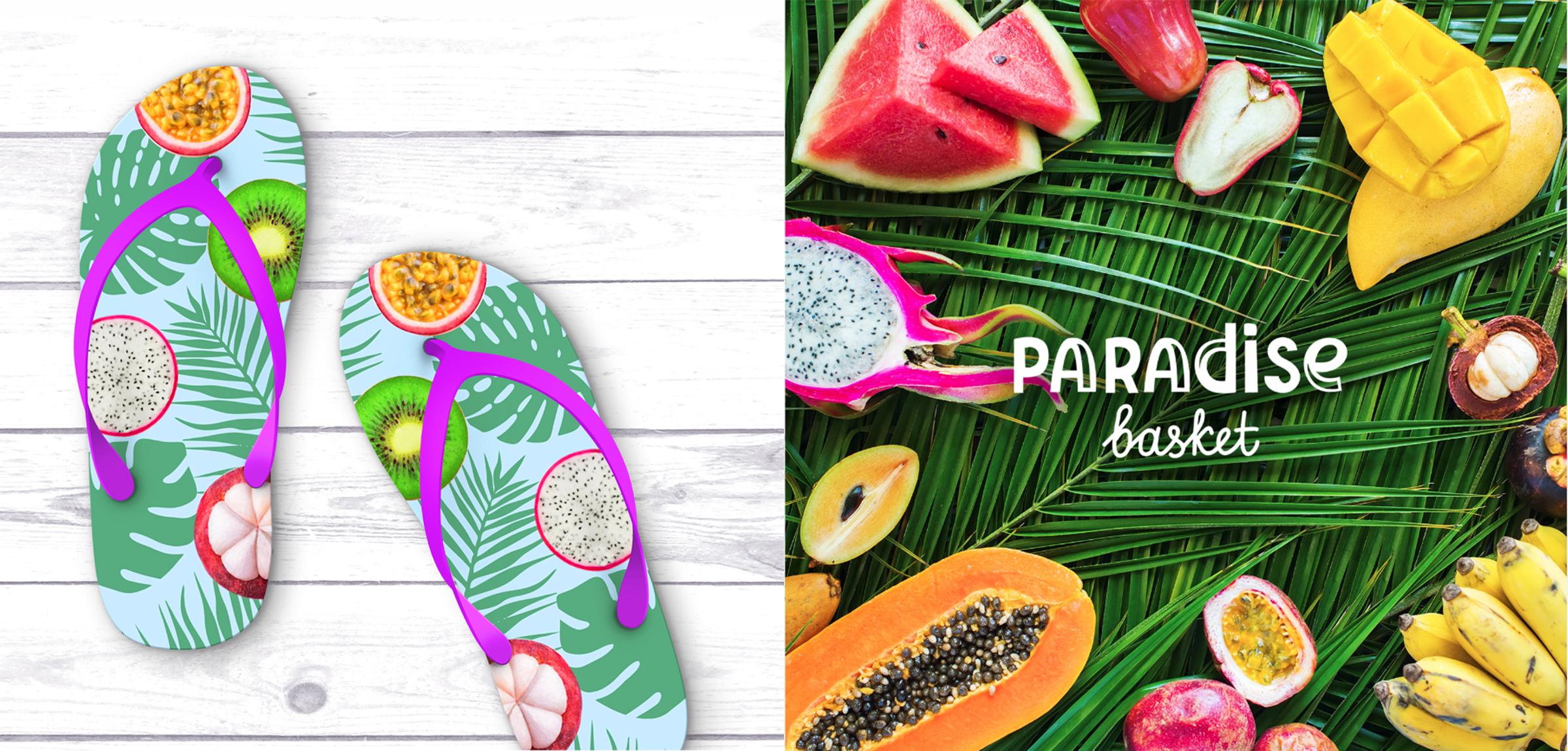 Разработка логотипа Paradise basket