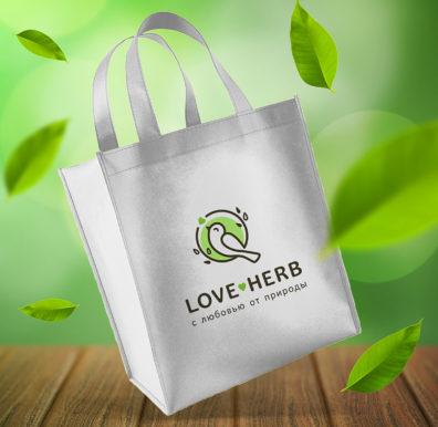 Разработка фирменного стиля Loveherb