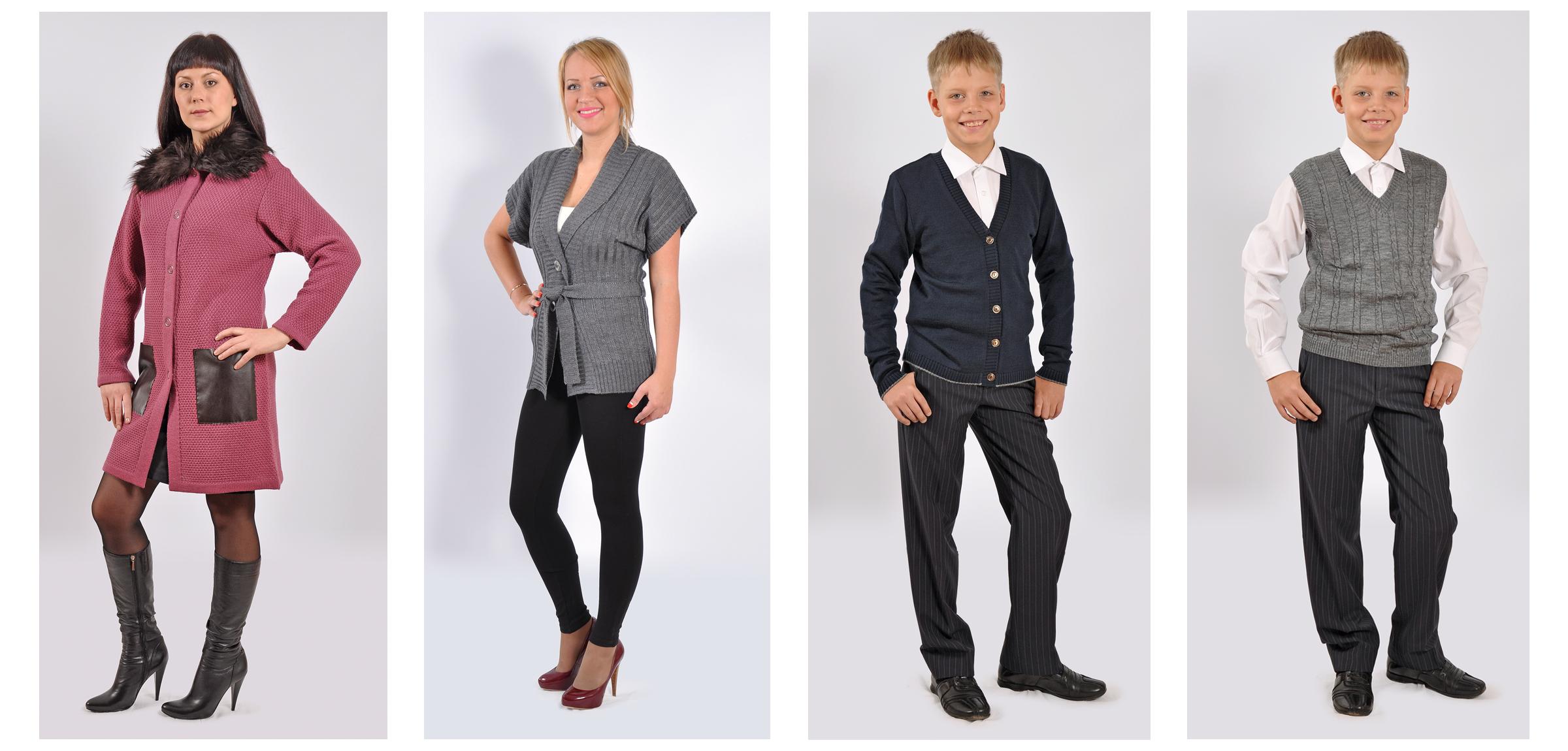 Фотоъемка одежды